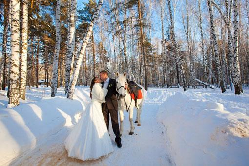 zima-svadba_9 Зимняя свадьба - продолжение волшебства