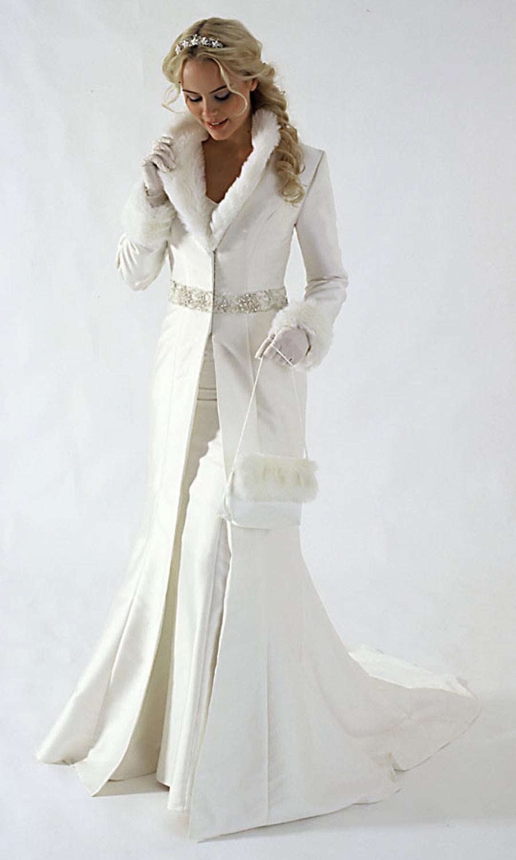 Свадебные платья зимой – ослепляют красотой, но не греют: поиск решения!