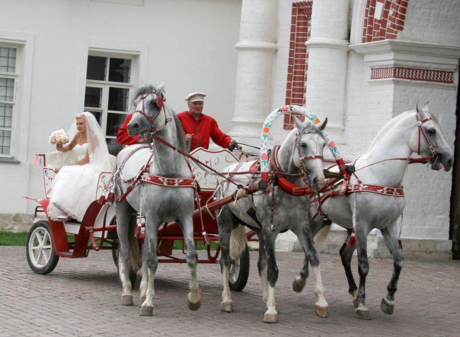 Русский свадебный поезд