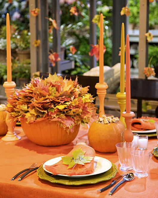 06_14 Осенние украшения свадебного стола