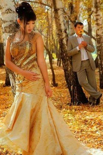 101 Цвет свадебного наряда