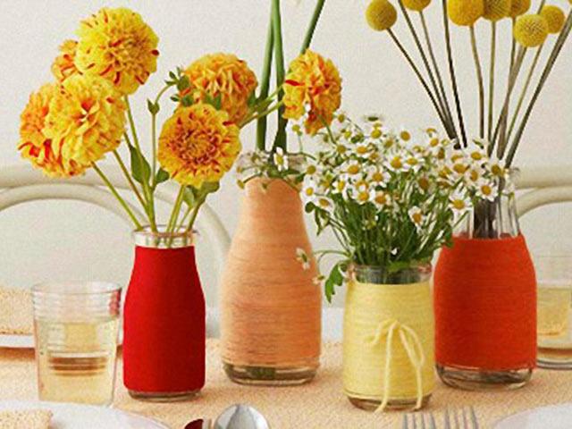 14-vazy-svoimi-rukami Идеи для украшения праздничного стола
