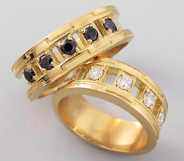 1410011b Камни в обручальных кольцах