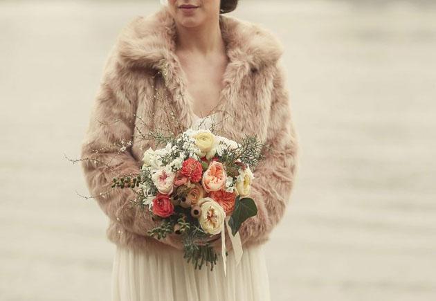 Свадьба зимой, что надеть невесте?