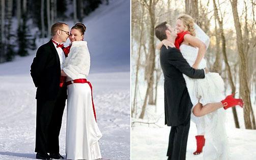222 Свадьба зимой, что надеть невесте?