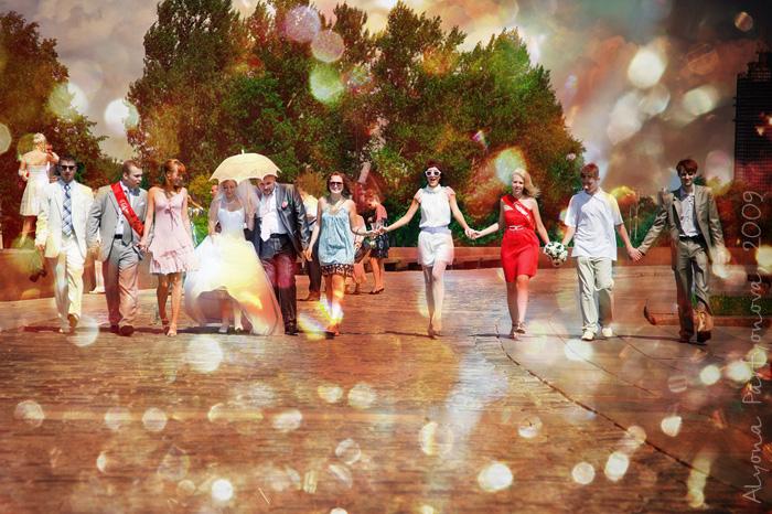 Маршрут свадебной прогулки