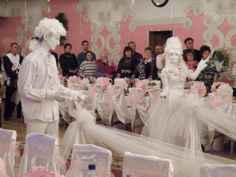 3969_l Живые скульптуры на свадьбу