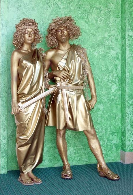 49209-greece Живые скульптуры на свадьбу