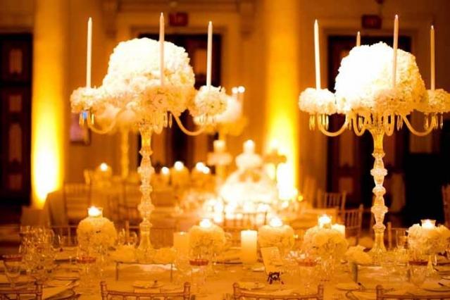 5e6a6d41 Композиции на свадебный стол с канделябрами