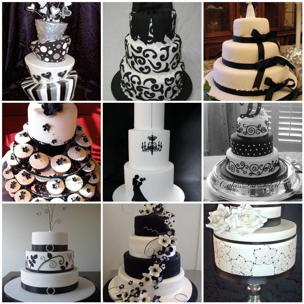 68160 Декор свадьбы в черно- белых тонах