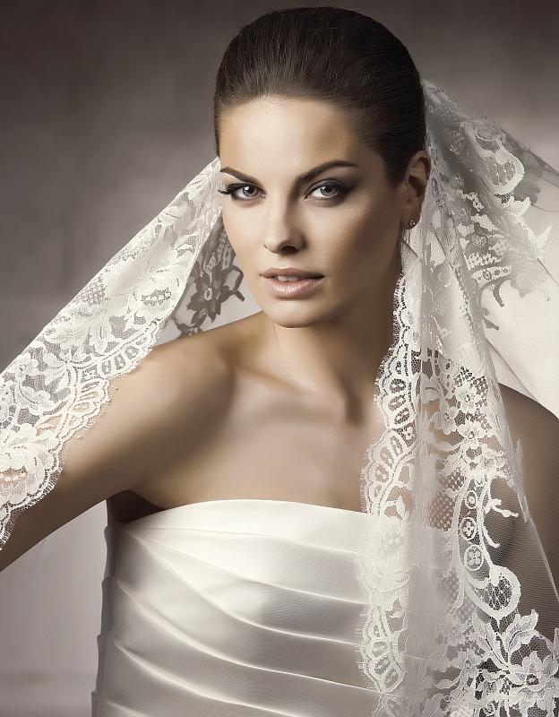 73 Виды фаты для невесты