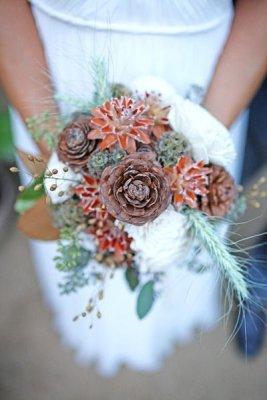 8777d2fe7aab1841a29945b698ebcf31 Модные зимние букеты: принцип выбора цветов на свадьбу, которые выдержат холод