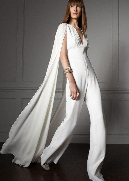 Брючный свадебный костюм – новая модная тенденция