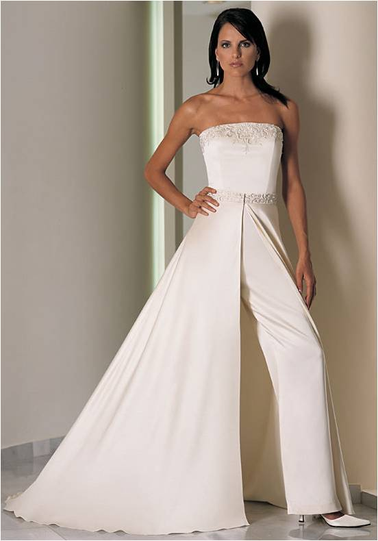 Bryuchnyj-svadebnyj-kostyum-9 Брючный свадебный костюм - новая модная тенденция