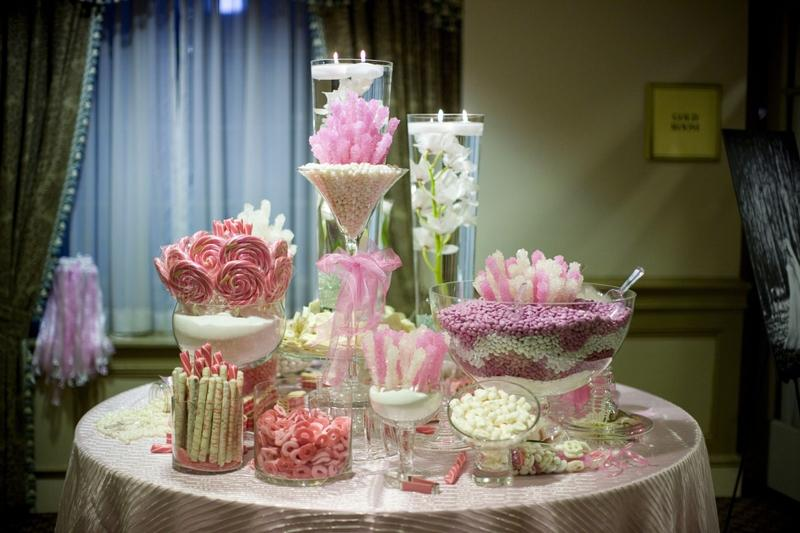 Candy-Table-Wedding-Window Оформляем Candy bar