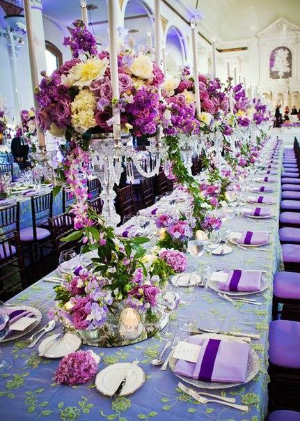 E2cvAQy5F4c Композиции на свадебный стол с канделябрами