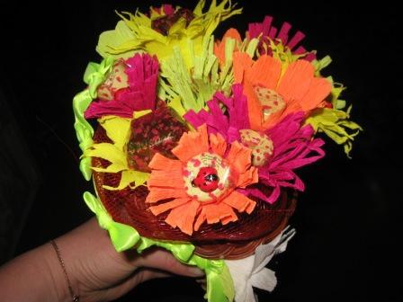 IMG_4460 Свадебные букеты из конфет