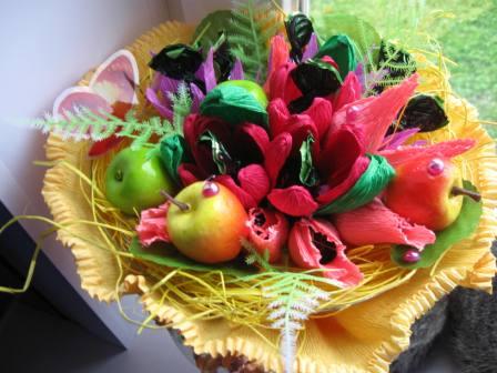 IMG_4572 Свадебные букеты из конфет