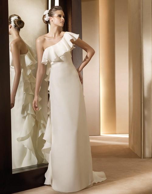 PronoviasAnade Свадебные платья прямого силуэта