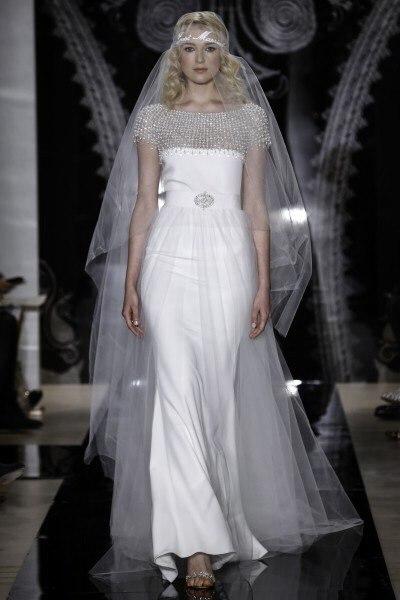 Reem-Acra-2014-1 Все коллекции свадебных платьев