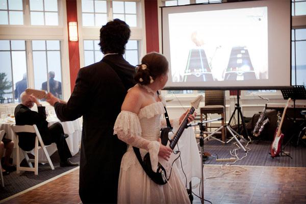 Видеоигры, как развлечение для гостей на свадьбе