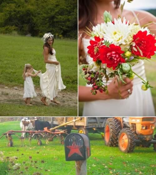 Unikalnost-svadby-v-selskom-stile Свадьба в сельском стиле - модная свадебная тенденция