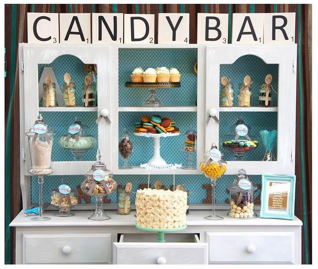 Willy_Wonka_candy_bar_party_sweets_birthday Оформляем Candy bar