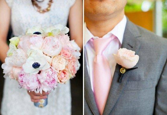 bouquet-and-boutonnieres-style-motivation-46 Свадьба в стиле «Сакура»: прекрасная весенняя свадьба