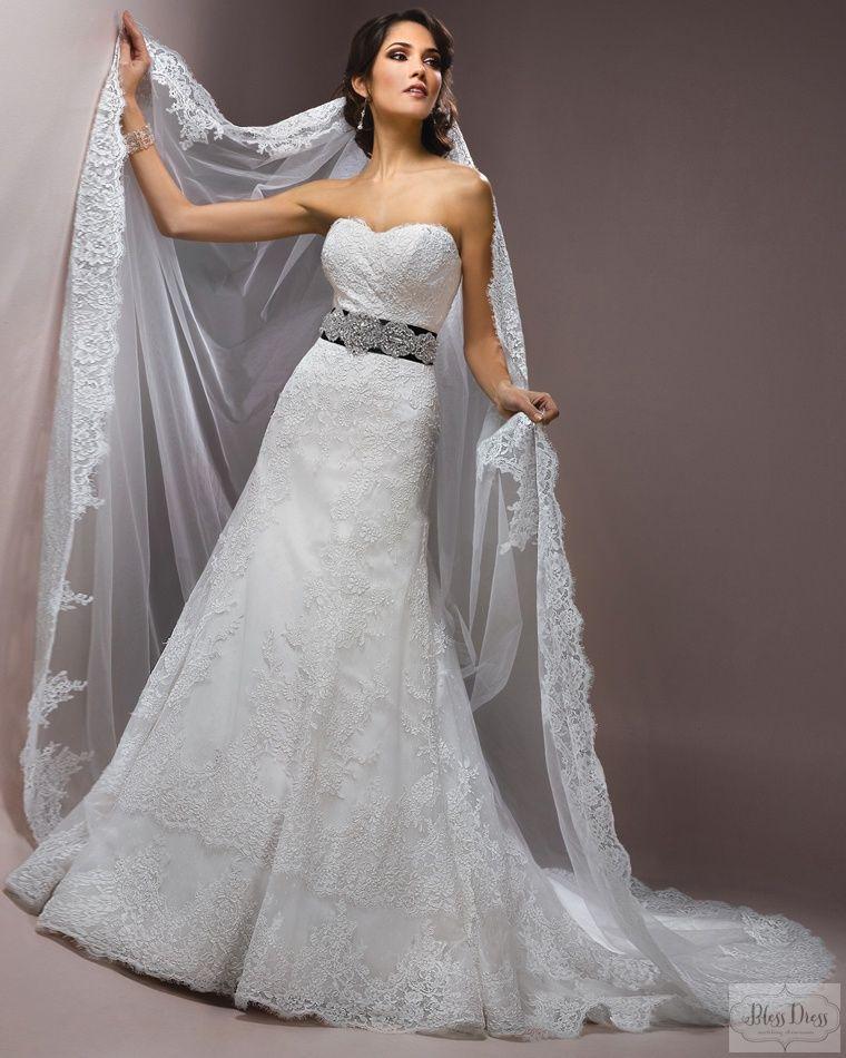 Виды фаты для невесты