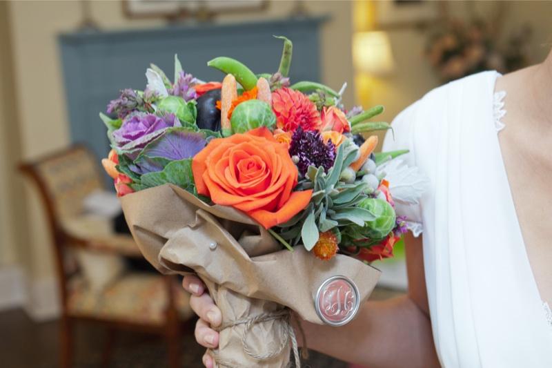 buket-nevesty-Svadba-v-selskom-stile Свадьба в сельском стиле - модная свадебная тенденция