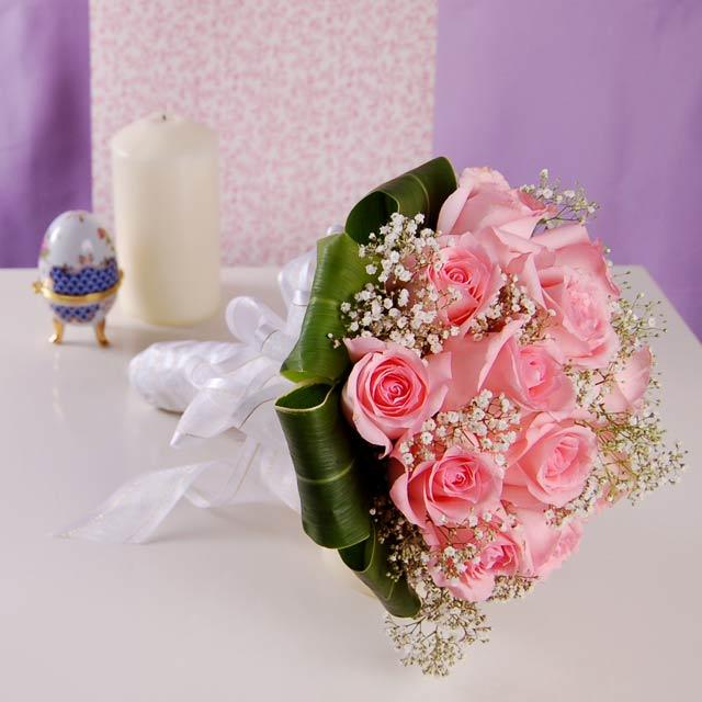 buket-nevesty-rozovaya-roza Идеи для свадеб со стилем, тематические свадьбы