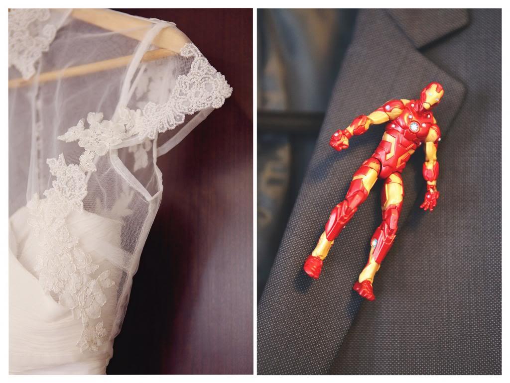 Свадьба в стиле фильма Железный человек