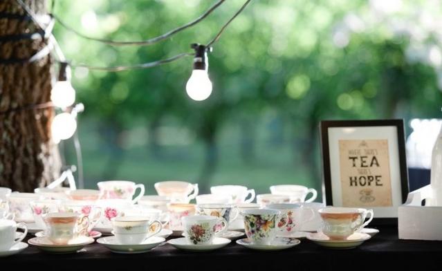 c84f5b28 Чайный бар на свадьбе