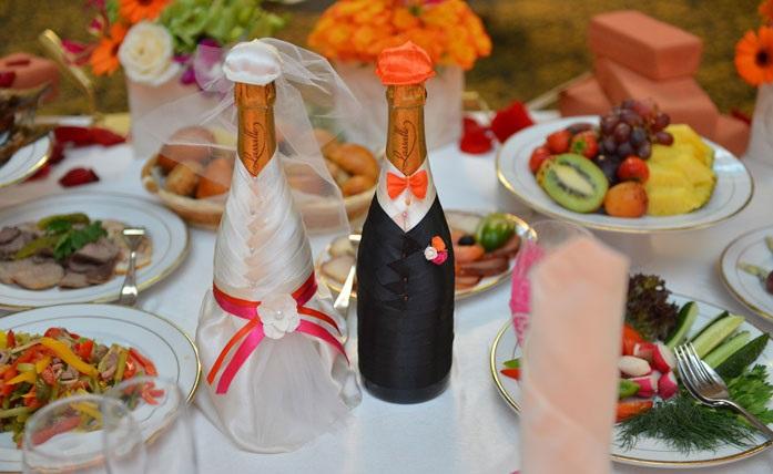 """dekor-butylok-strojka Свадьба в стиле """"Стройки"""" для веселых и необычных пар"""