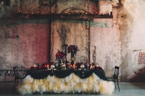 """dekor-zala-malifesenta Свадьба в стиле фильма """"Малифесента"""""""