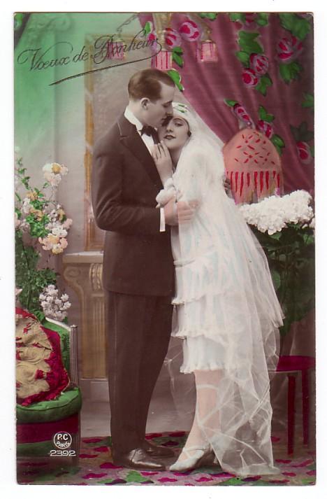 foto3 Старинные свадебные фото - красота застывшая на бумаге