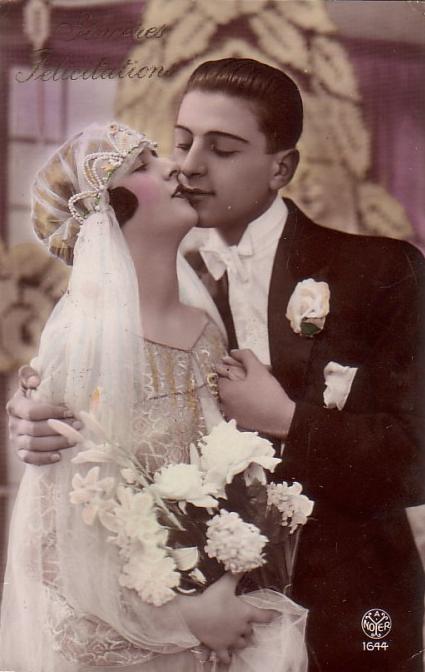 foto5 Старинные свадебные фото - красота застывшая на бумаге
