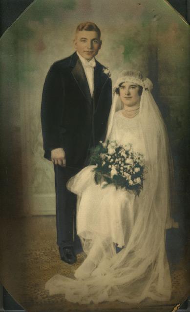 foto7 Старинные свадебные фото - красота застывшая на бумаге