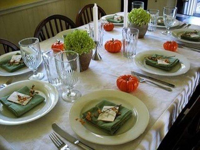 fresh-green-thanksgiving-decor-ideas-1 Празднуем льняную свадьбу!