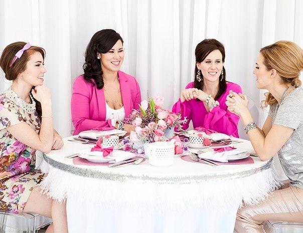 glamurnyj-dvichnik-6 Идея для гламурного  девичника для стильных невест