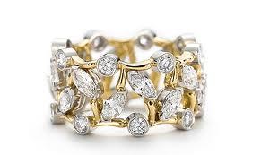Камни в обручальных кольцах