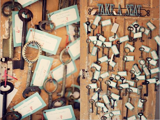 klyuch2 10 идей как использовать ключи в декоре свадьбы