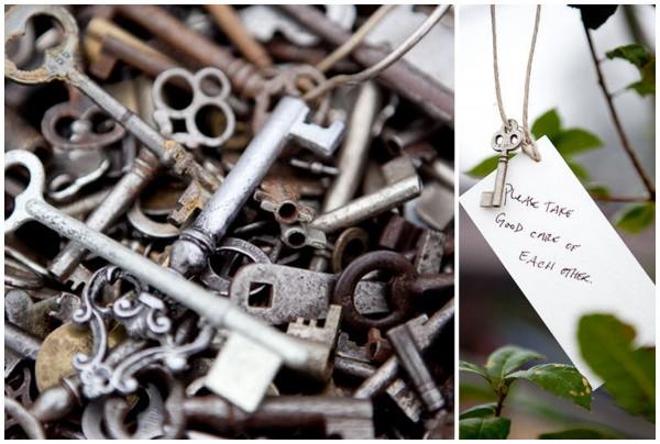 klyuch6 10 идей как использовать ключи в декоре свадьбы