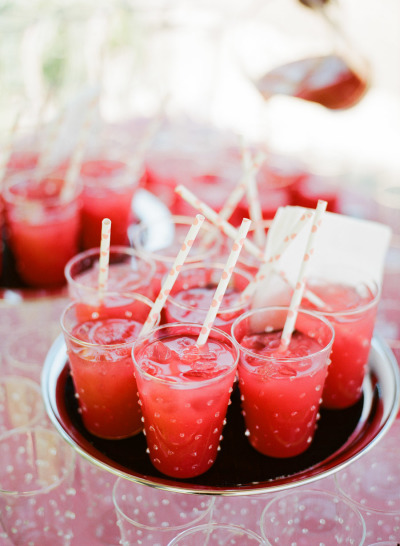 Освежающие коктейли для летней свадьбы