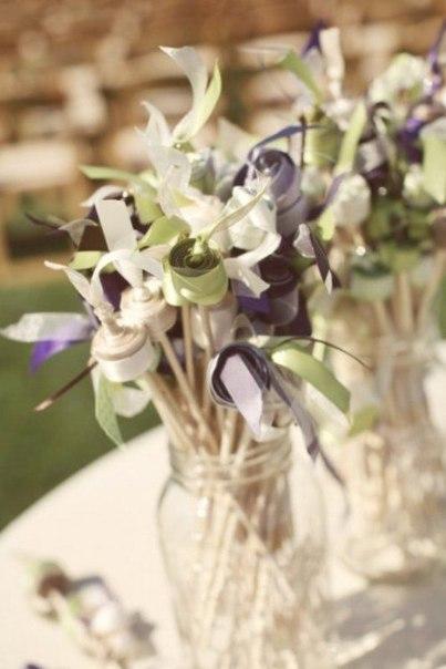 lenty4 Как украсить свадьбу лентами-Украшаем зал!