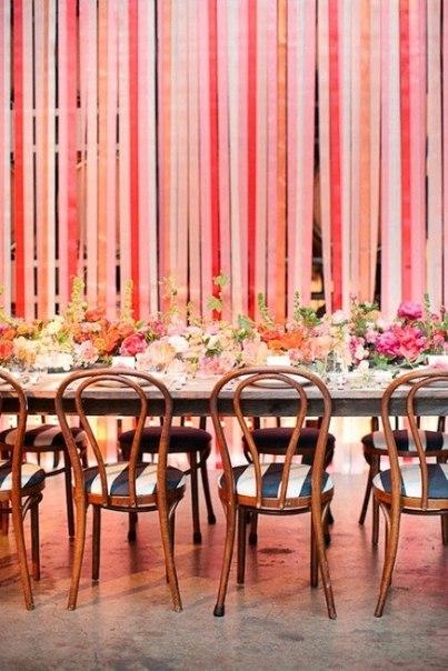 lenty7 Как украсить свадьбу лентами-Украшаем зал!
