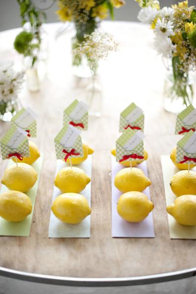 Фотоподборка. Лимонная свадьба
