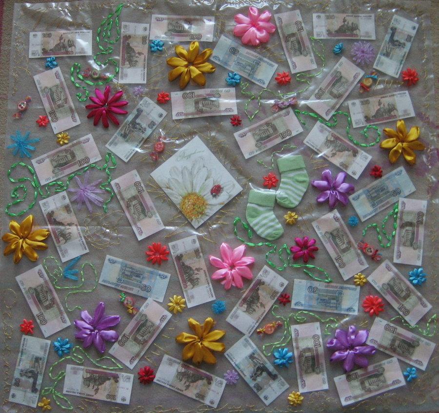 panno1 Как необычно подарить деньги на свадьбу: красиво и ориганально дарим деньги молодоженам