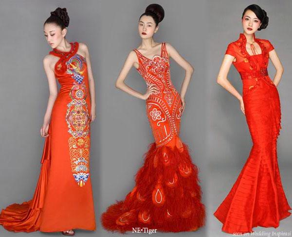 Свадьба в стиле красного дракона