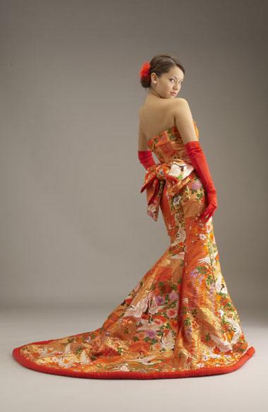 plate Свадьба с японской направленностью и мотивами